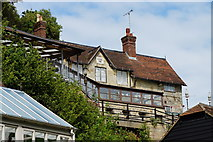 SZ5881 : Chine Inn, Shanklin, Isle of Wight by Peter Trimming