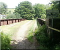 SO3701 : Jumping from this bridge could risk life or limb, Usk by Jaggery