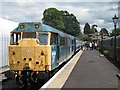 TL5503 : Ongar to North Weald train by Roger Jones