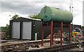 TL4903 : Water Tank and Engine Shed at North Weald Station by Roger Jones