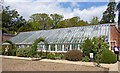 SZ2096 : Greenhouse at Hinton Admiral by Mike Smith