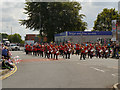 SD8010 : Lancashire Fusiliers' Band, Bury Carnival by David Dixon