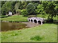 ST7733 : Palladian Bridge, Stourhead by Paul Gillett