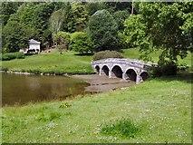 ST7733 : Palladian Bridge, Stourhead by Paul Gillett