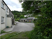 SD3097 : Cottages at Cat Bank, Coniston by Peter Barr