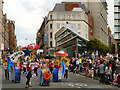 SJ8397 : Peter Street, Manchester Day Parade by David Dixon