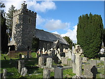 SN9668 : St Clement's church, Rhayader by David Purchase