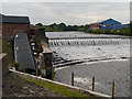SD7909 : Bealey's Weir, River Irwell by David Dixon