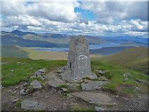 NH1462 : Fionn Bheinn summit by John Allan