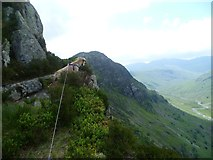 NY2712 : On Eagle Crag by Michael Graham