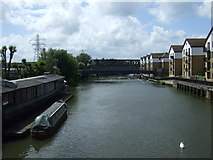 TL1998 : River Nene, Peterborough by JThomas