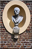 TQ1773 : Bust in the grounds of Ham House by Philip Halling