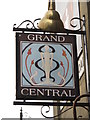 TQ3004 : Sign for The Grand Central, Surrey Street / Guildford Road, BN1 by Mike Quinn