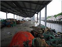 NZ3668 : Herring shed, North Shields Fish Quay by Andrew Curtis