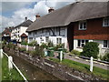 SU6822 : Thatched Roofs, East Meon by Colin Smith