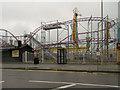 NZ3767 : Ocean Beach Amusement Park by David Dixon