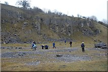 SK1373 : Disused Quarry , Miller's Dale by Stephen Darlington
