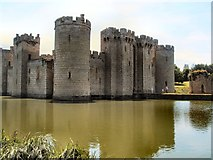 TQ7825 : Bodiam Castle by Paul Gillett