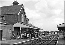 TQ4023 : Sheffield Park station in early days of Bluebell Railway by Ben Brooksbank