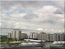TQ3884 : Athletes'  Village, Olympic Park (3) by David Anstiss