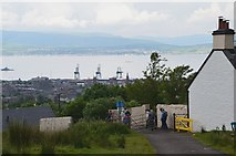 NS2674 : Overton above Greenock by Jim Barton