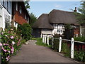 SU6822 : Brookside Lane, East Meon by Colin Smith