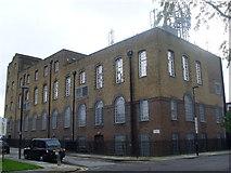 TQ3084 : Lower Holloway Telephone Exchange (1) by David Hillas