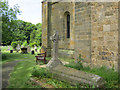 TA0183 : The south west corner of St Martin's church, Seamer by John S Turner
