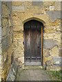 TA0183 : Priest's door of St Martin's, Seamer by John S Turner