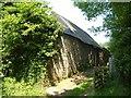 SX6788 : Barn at Coombe Farm by Derek Harper