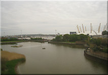 TQ3980 : East India Dock Basin by Given Up