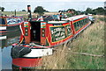 SP3684 : Narrowboat Jubilee, Hawkesbury by E Gammie
