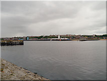 NZ3668 : The Mouth of the Tyne by David Dixon