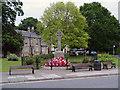 NZ3056 : Washington Village Green and War Memorial by David Dixon