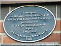 SK4050 : Cliff Richards' first gig plaque, The Regal, Ripley by Rob Howl