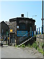 SK4051 : Octagonal gatehouse, Butterley Works, Ripley by Rob Howl