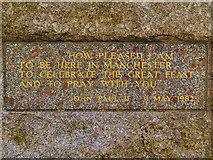 SD8203 : Papal Monument Inscription by David Dixon