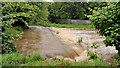 J3673 : The Connswater in flood, Belfast by Albert Bridge