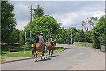 SP4966 : Riding through Grandborough by Stephen McKay