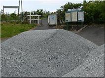 SH6214 : Piles of gravel by Mat Fascione