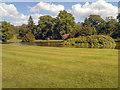 SJ9682 : The South Lawn and Reflection Lake by David Dixon