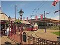 SY2490 : Seaton tramway station by Derek Harper
