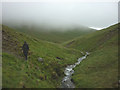 SD6796 : Red Gill Beck above Cautley Spout by Karl and Ali