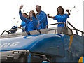 SD8204 : 2012 Olympic Torch Relay Procession by David Dixon