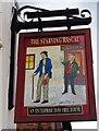 SO9086 : The Starving Rascal (2) - sign, 1 Brettell Lane, Amblecote, Stourbridge by P L Chadwick