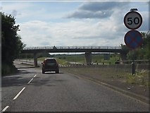 TQ0999 : Joining the A405 at Leavesden by Peter Whatley