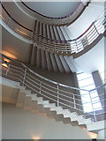 SD4264 : Stairwell, Midland Hotel, Morecambe by Alexander P Kapp