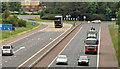 J3084 : The A8(M), Newtownabbey (1) by Albert Bridge