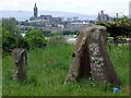 NS5966 : Sighthill Park stone circle by Thomas Nugent