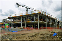 TQ7668 : Construction site by Robin Webster